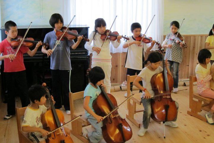 オーケストラの授業
