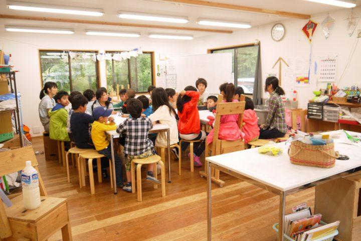 小学校の授業の一場面