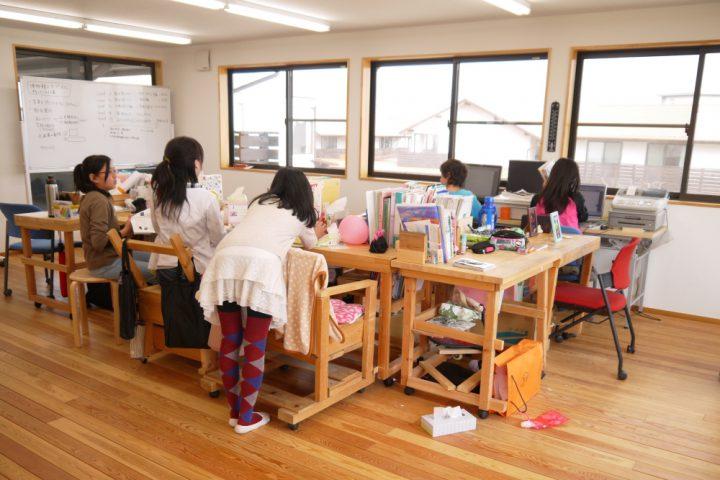 中学校のプロジェクト風景