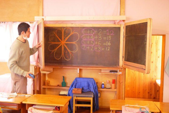 温かみのある教室