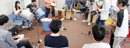 楽器の演奏もできる
