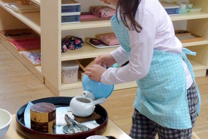 日常のお仕事 お茶を淹れる