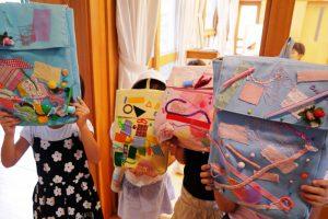 子ども達の手作りバッグ