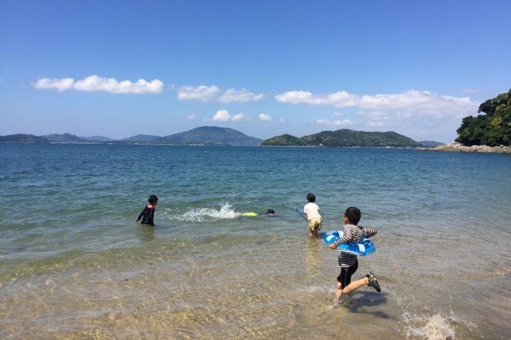 徒歩10分で海水浴