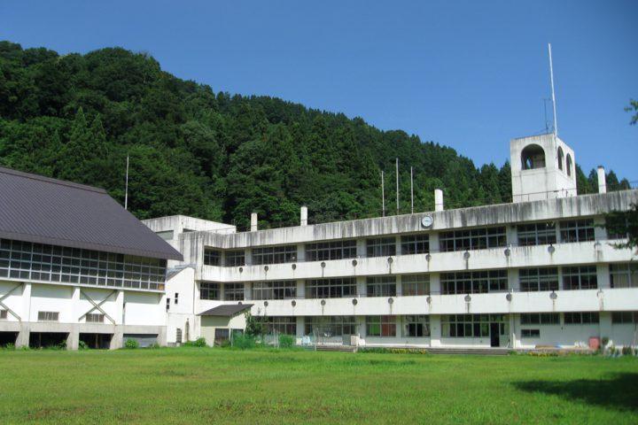 再利用している校舎