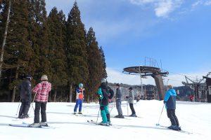 スキー体験藤里