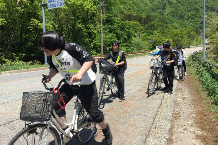 海まで自転車旅行