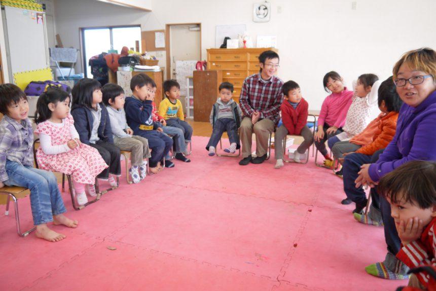 子ども達とのミーティング