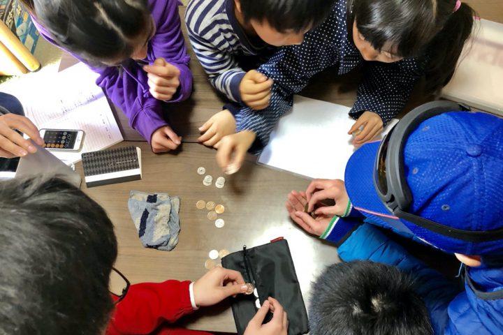 「子ども活動貯金箱」のお金の使い道は生徒だけで決めています