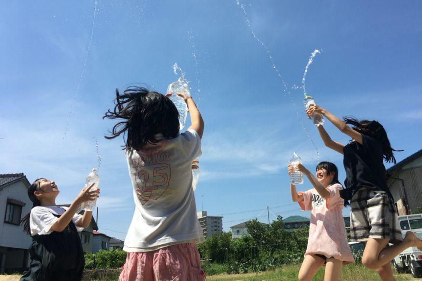 真夏はやっぱり水あそび!