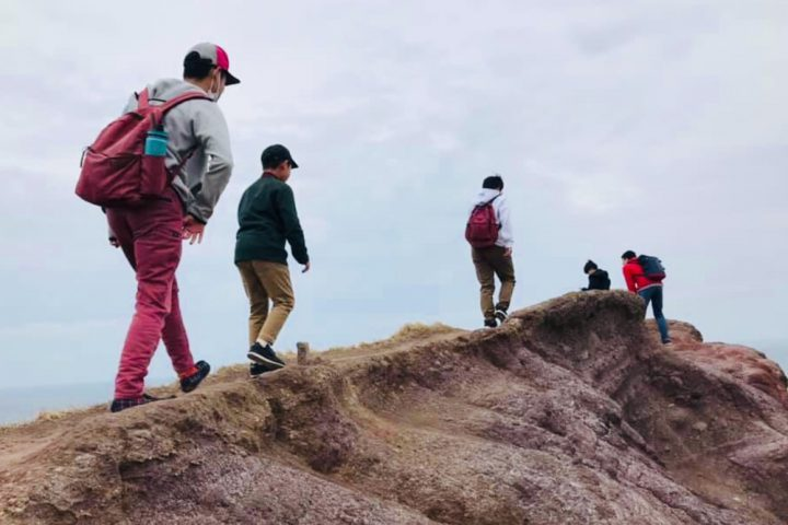 みんなで山登り