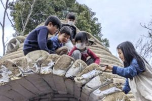 子ども達が作る秘密基地