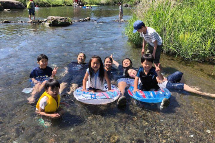 江津湖での自然体験で感性を開きます