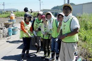 有志で岩手県に震災復興ボランティアへ