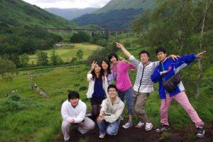 英国・スコットランドに1ヵ月の海外研修